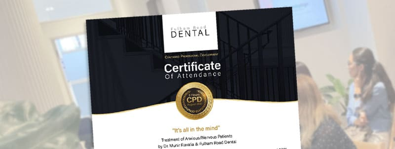 CPD Event Fulham Road Dental