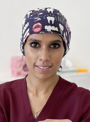 DR ANGELA BOODHOOA Periodontist